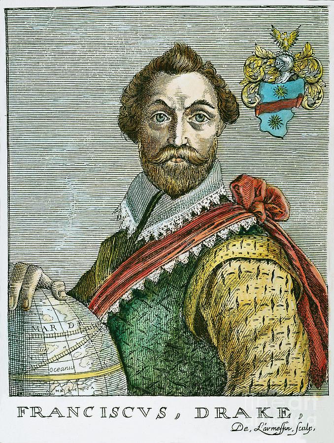 16th Century Photograph - Sir Francis Drake (1540?-1596) by Granger