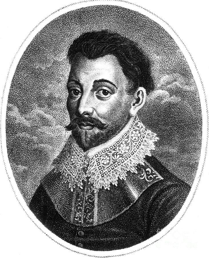 History Photograph - Sir Francis Drake, English Explorer by Photo Researchers