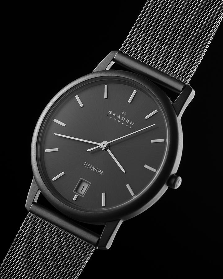 Skagen Titanium Watch Photograph by Noah Katz