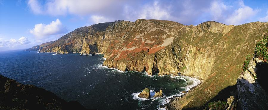 Co Donegal Photograph - Slieve League, Co Donegal, Ireland by The Irish Image Collection