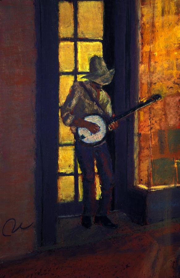 Slim Pickens Painting by Cheryl Whitehall