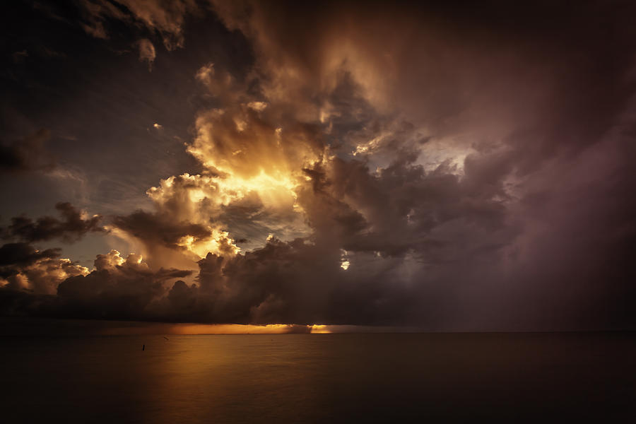 2012 Photograph - Sliver Sunrise II by Mabry Campbell