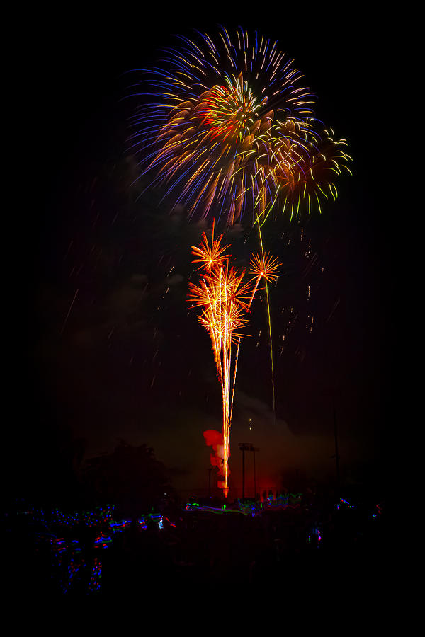 4th Of July Photograph - Small Town Celebration by David Hahn