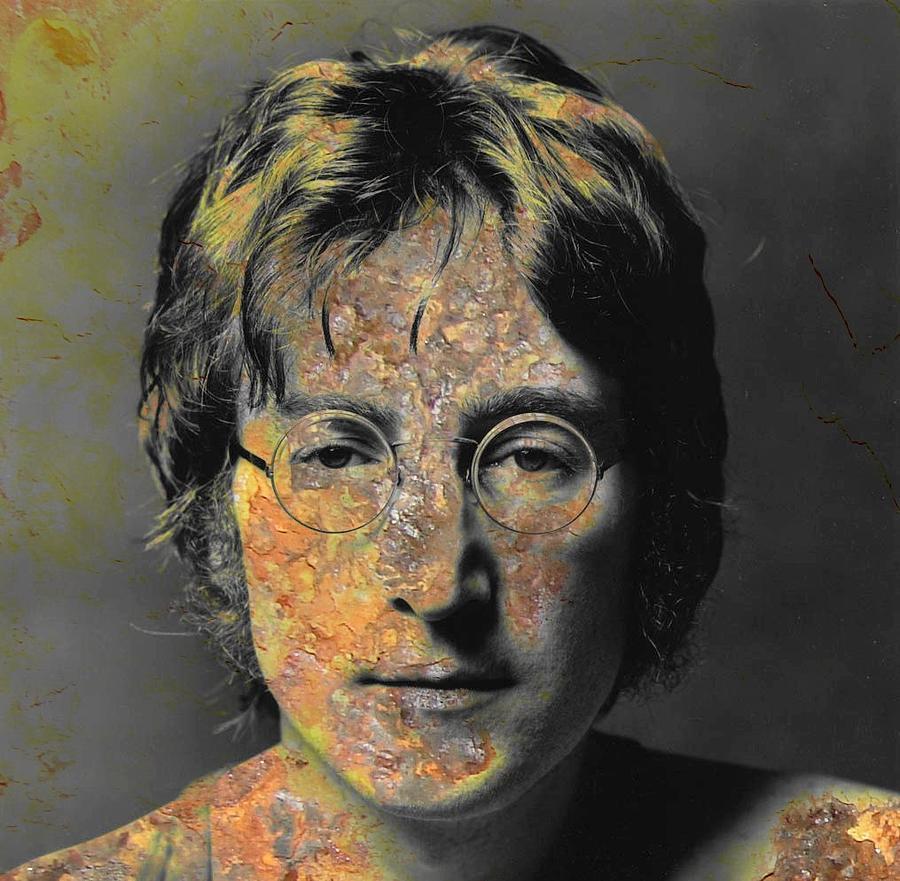 John Lennon Painting - Smart Beatle  by Chandler  Douglas