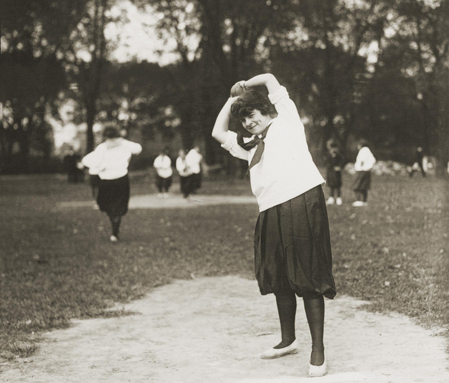 1930 Photograph - Softball Game by Granger