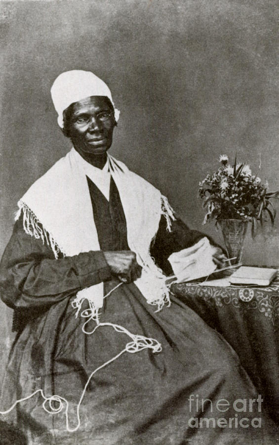 History Photograph - Sojourner Truth, African-american by Photo Researchers