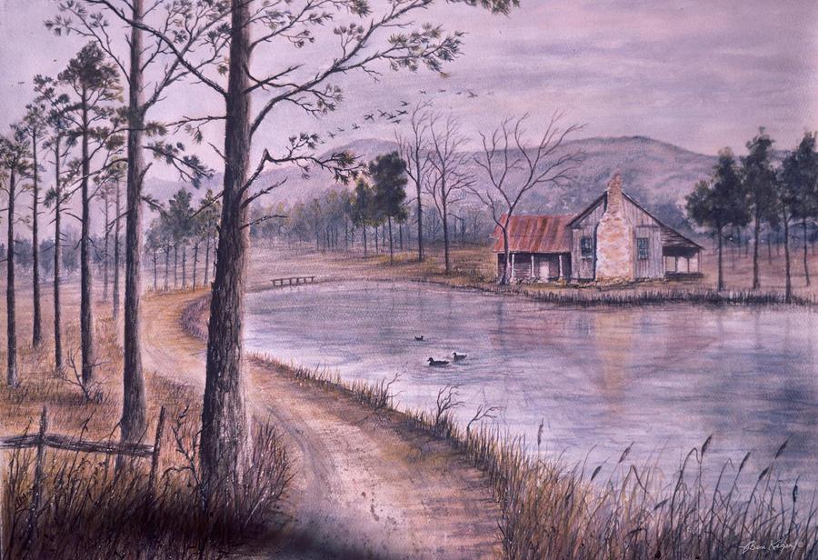 Morning Painting - South Carolina Morning by Ben Kiger