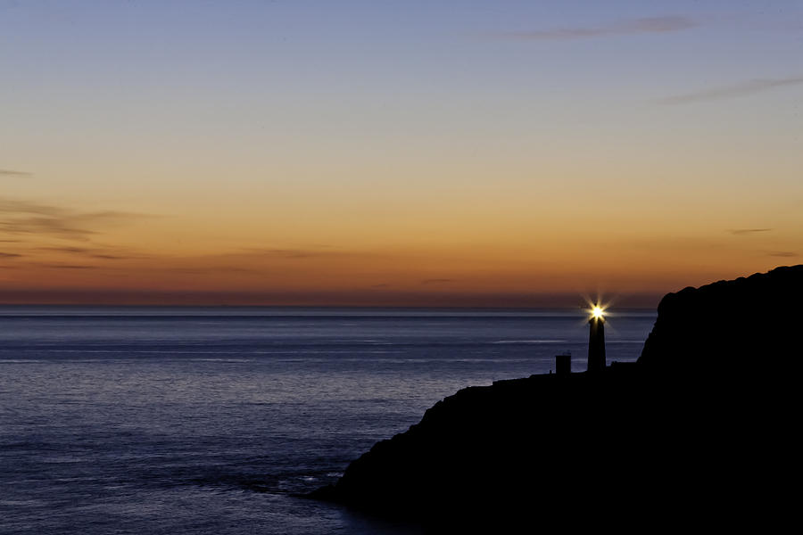 Acrylic Photograph - South Stack Lighthouse by Gary Finnigan