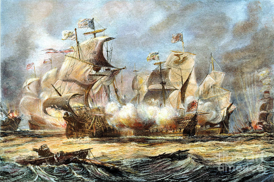 Spanish Armada 1588 Photograph By Granger