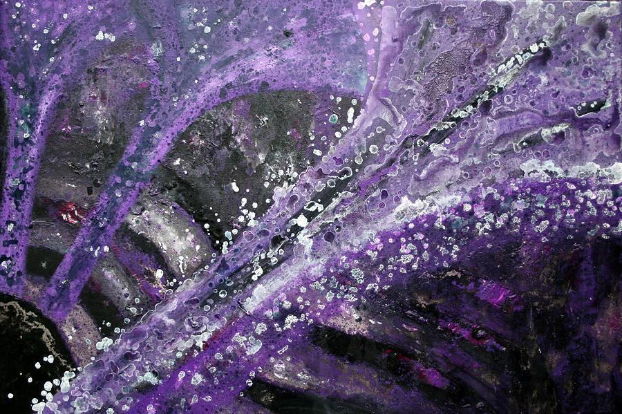 Abstract Painting - Spiritual Life  by Ian Cameron