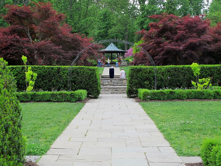 Spring Brookshire Gardens Photograph by Valia Bradshaw