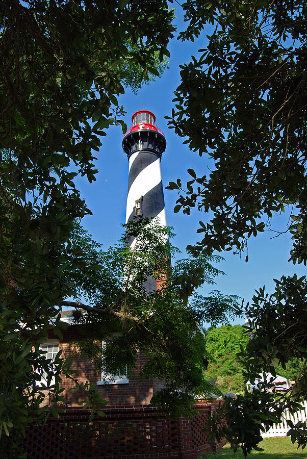 Florida Photograph - St Augustine Lighthouse by Skip Willits
