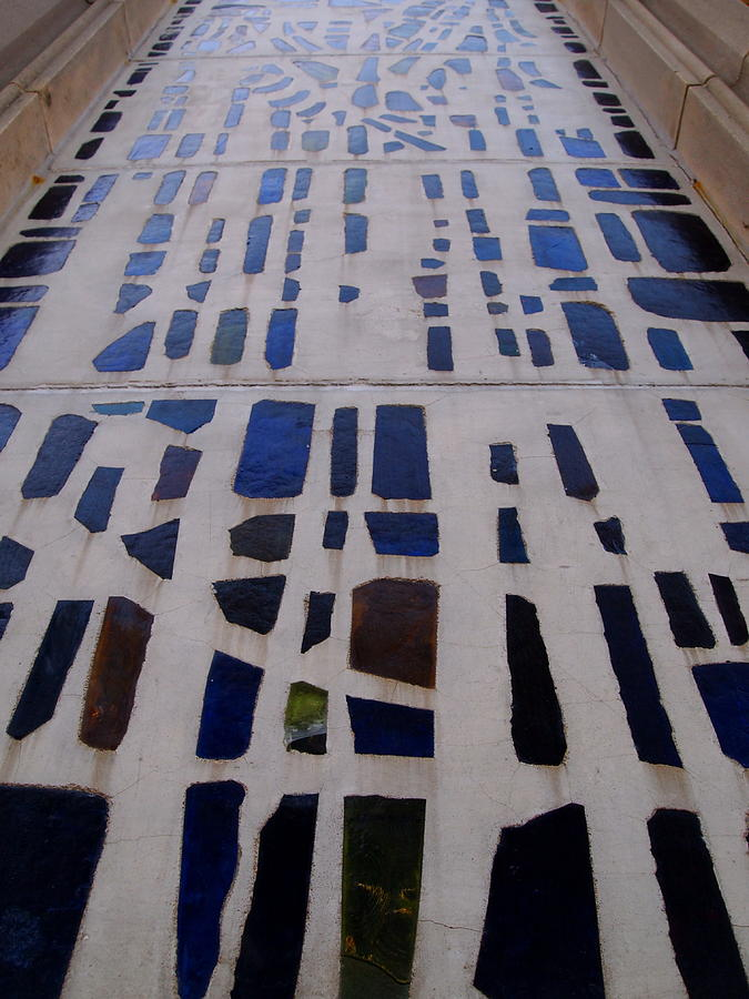 Blue Photograph - Stained Glass by Judge Howell
