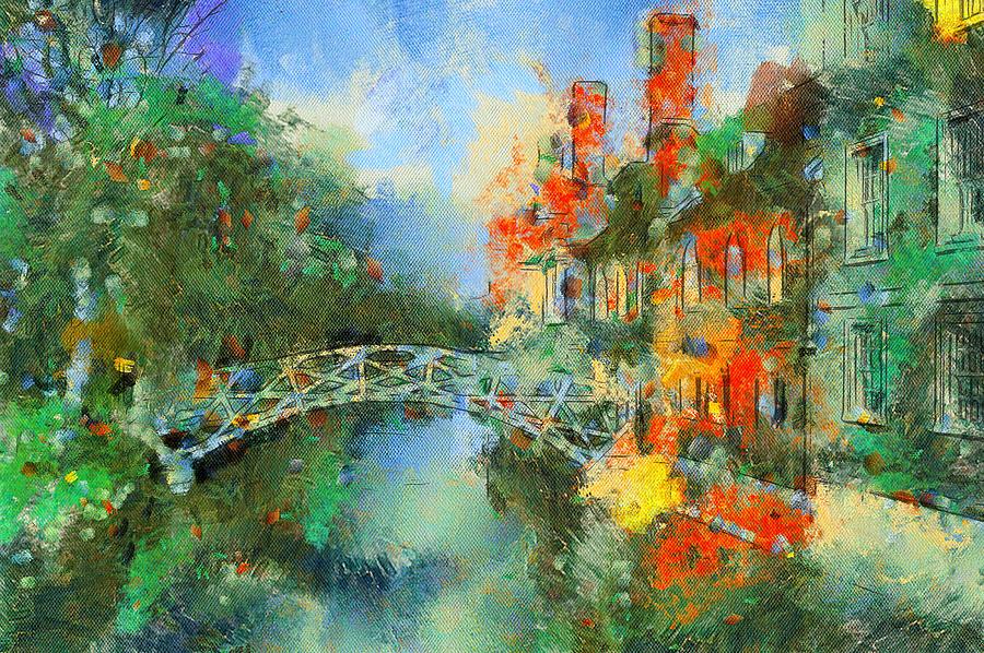 Stamford Digital Art - Stamford Bridge by Yury Malkov