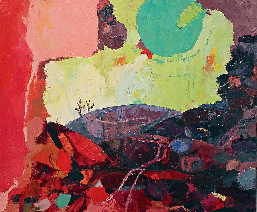 Stones Painting - Start Leaving Things Behind by Missy Borden