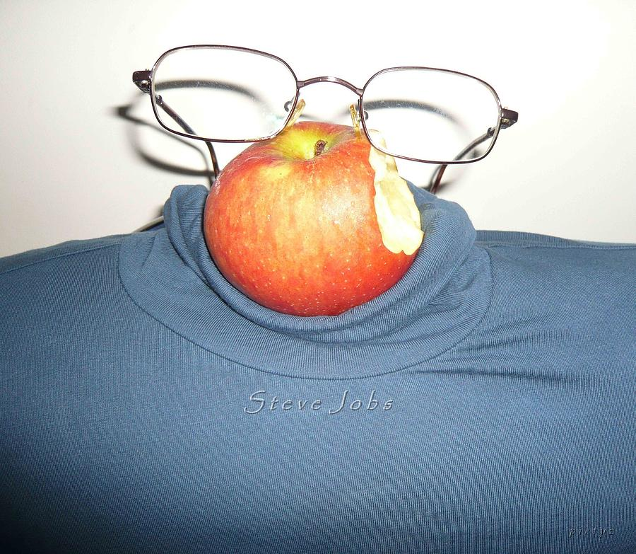 Steve Jobs Photograph - Steve Jobs by Piety Dsilva