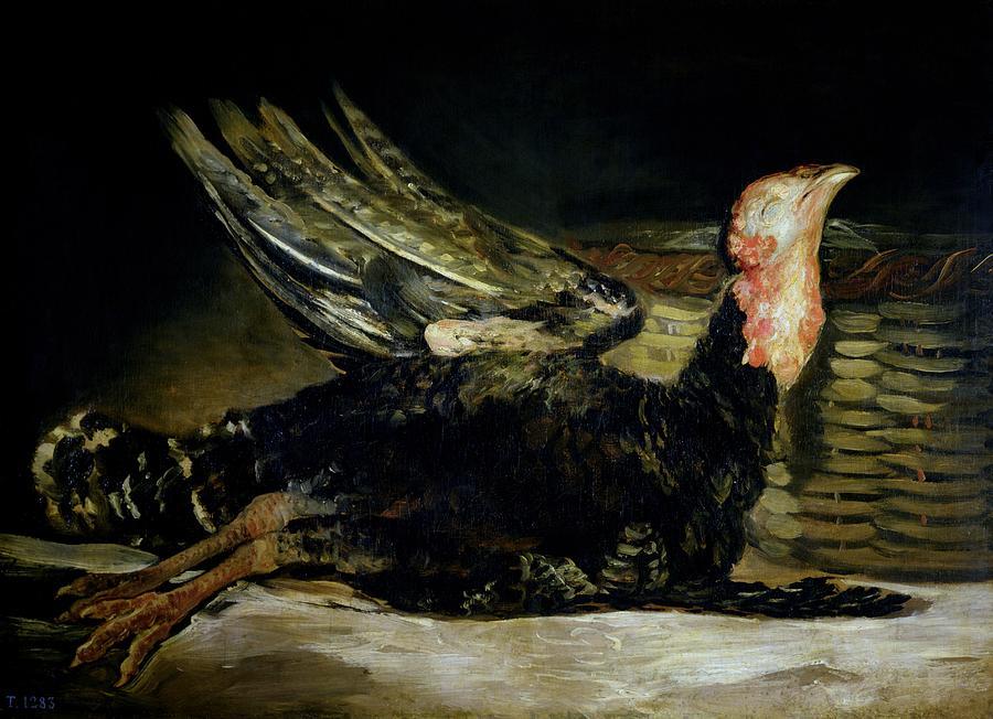 Still Life Painting - Still Life by Goya