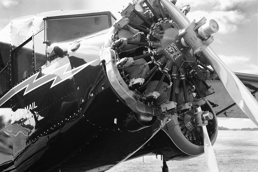 Stinson Tri-motor Photograph - Stinson Tri-motor 1931 by Maxwell Amaro