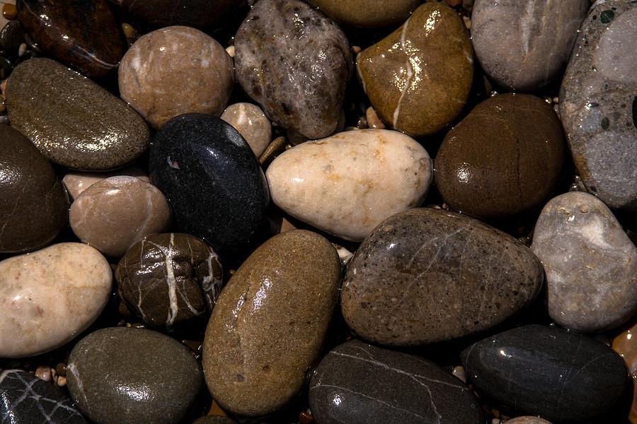 Stones Photograph - Stones by Daniel Kulinski