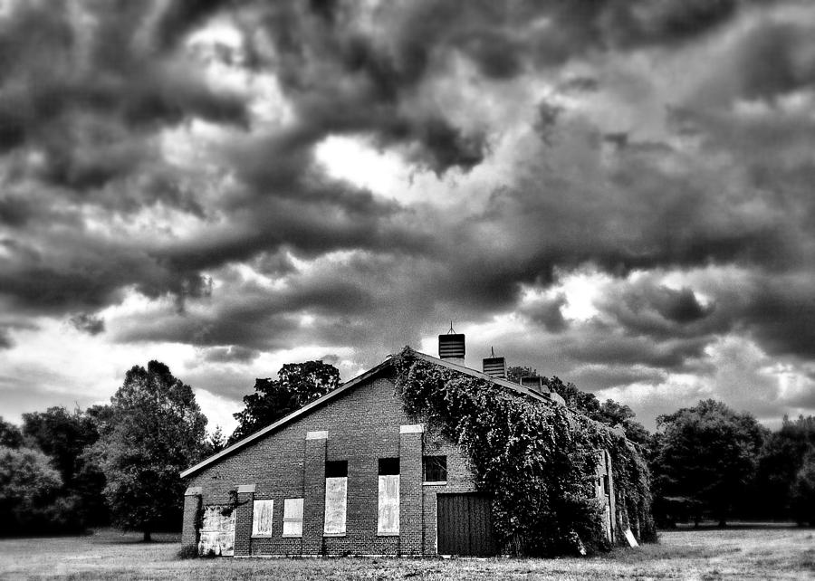 Barn Photograph - Stormy Monday #1 by John Derby