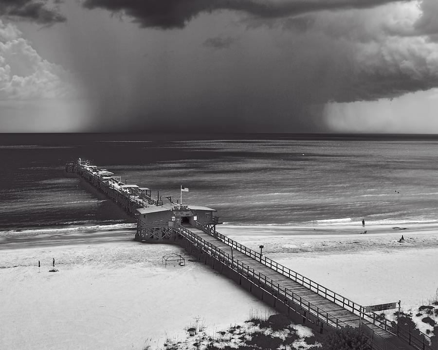 B&w Photograph - Summer Storm by Gordon Engebretson