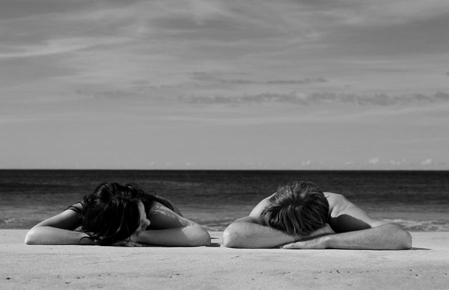 Sunbathers Photograph - Sunbathers by Noel Elliot