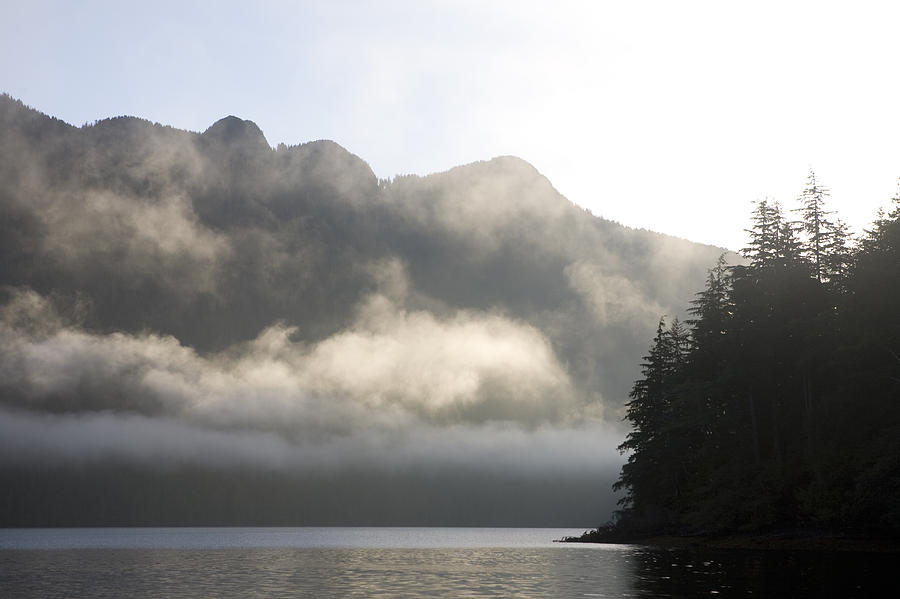 Queen Charlotte Islands Photograph - Sunrise In Haida Gwaii by Taylor S. Kennedy