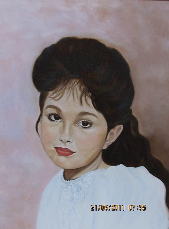 Contemporary Painting - Tarra by Bertha Hamilton