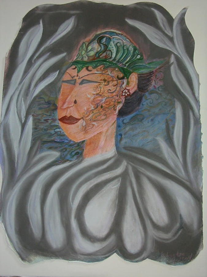 Pastel Painting - Tattoo You by Marian Hebert