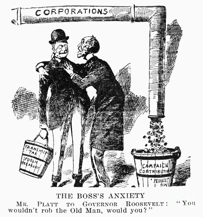 20th Century Photograph - Teddy Roosevelt Cartoon by Granger