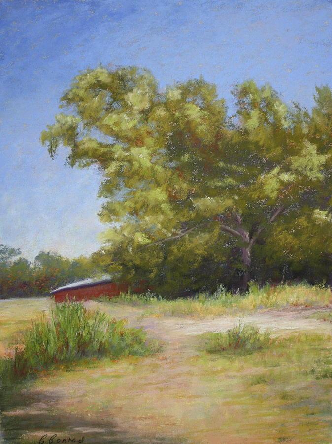 Tree Pastel - Tennessee Barn by Carol Conrad