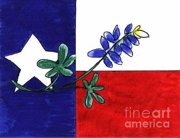 Texas Bluebonnet by Vonda Lawson-Rosa