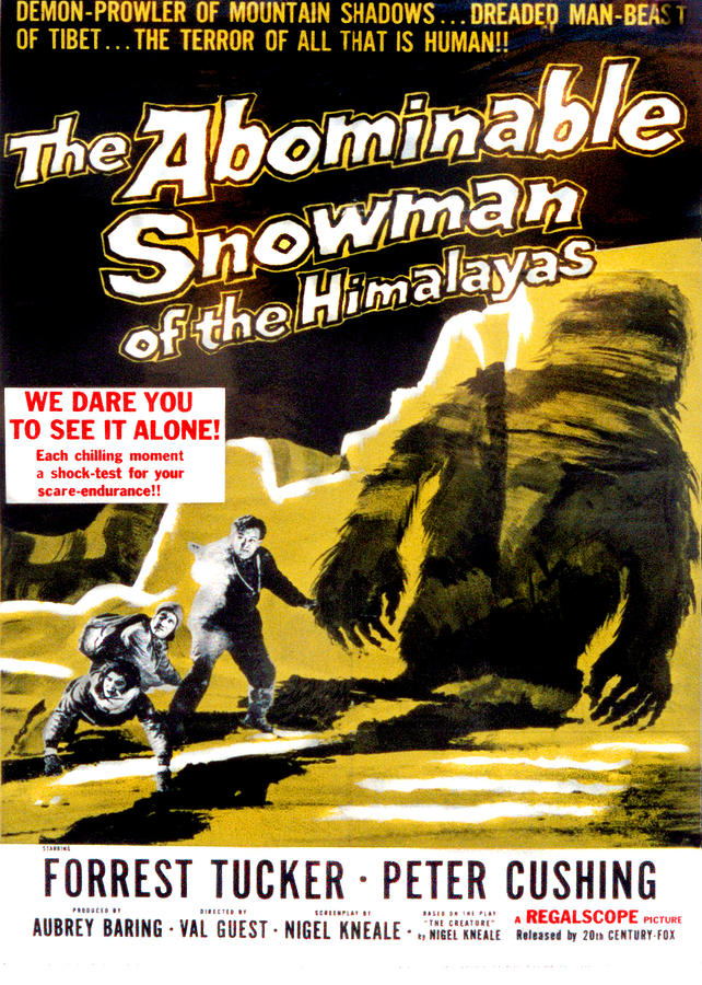 1950s Poster Art Photograph - The Abominable Snowman, Aka The by Everett