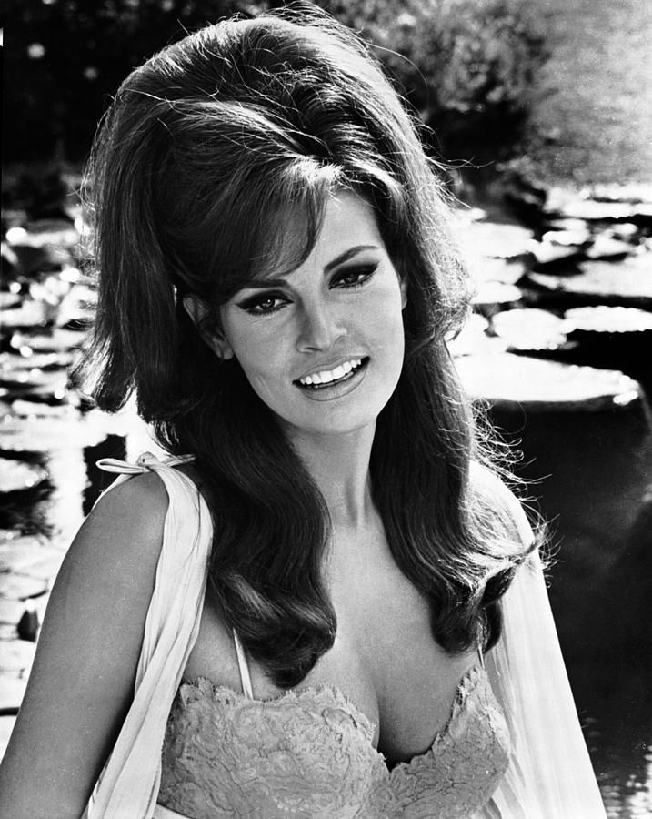 1960s Hairstyles Photograph - The Biggest Bundle Of Them All, Raquel by Everett
