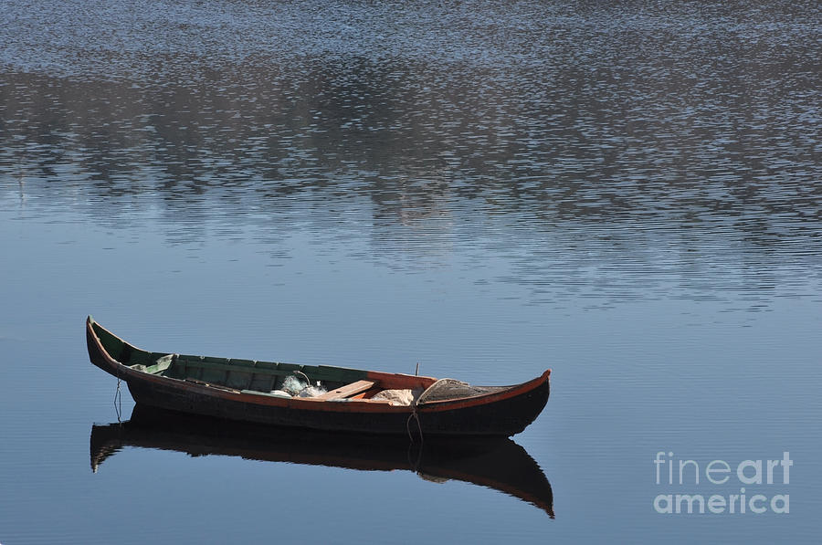 Boats Photograph - The Boat by Armando Carlos Ferreira Palhau