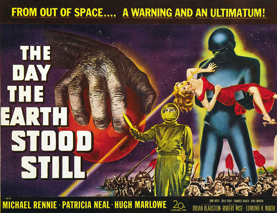 1951 Movies Photograph - The Day The Earth Stood Still, 1951 by Everett