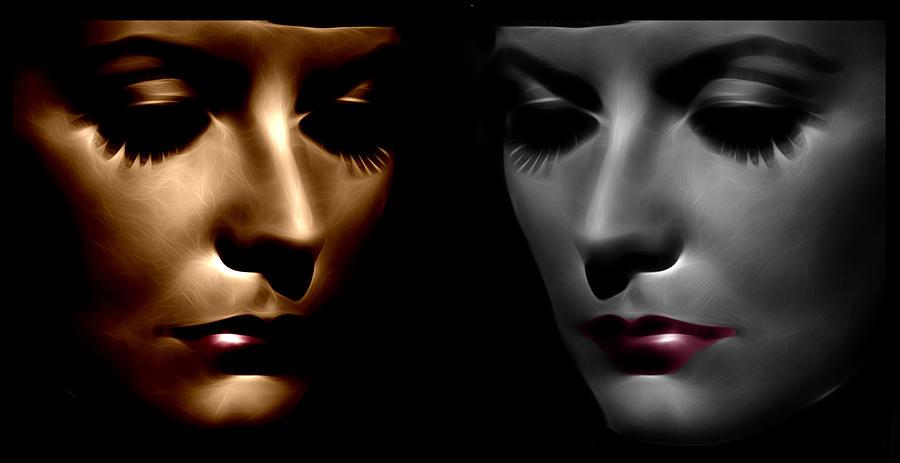 The Divine Digital Art by Steve K