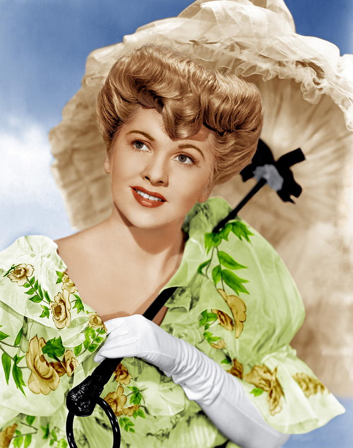 1940s Portraits Photograph - The Emperor Waltz, Joan Fontaine, 1948 by Everett