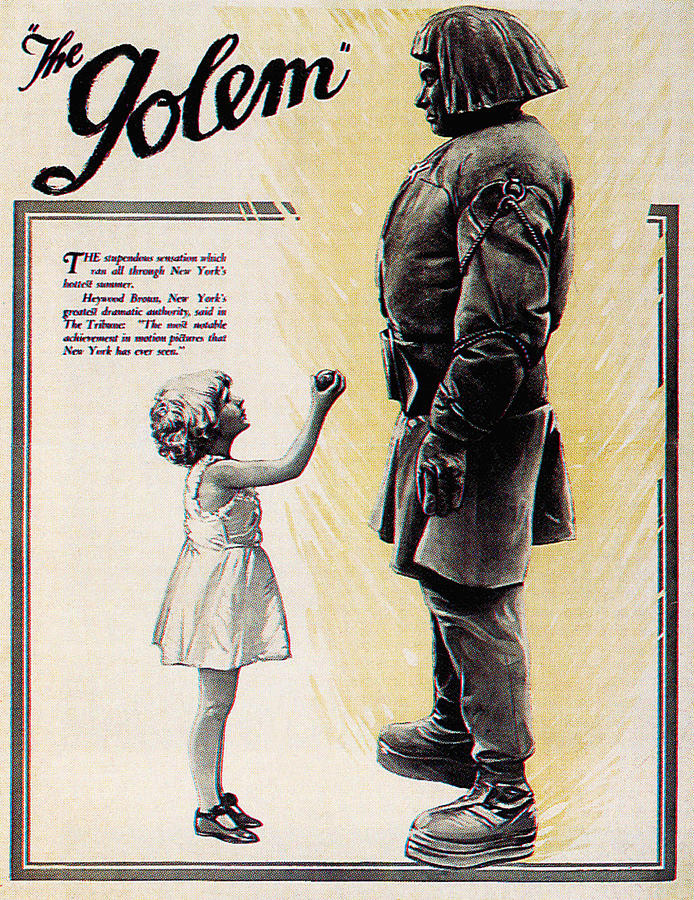1920 Movies Photograph - The Golem, Aka Der Golem, Wie Er In Die by Everett