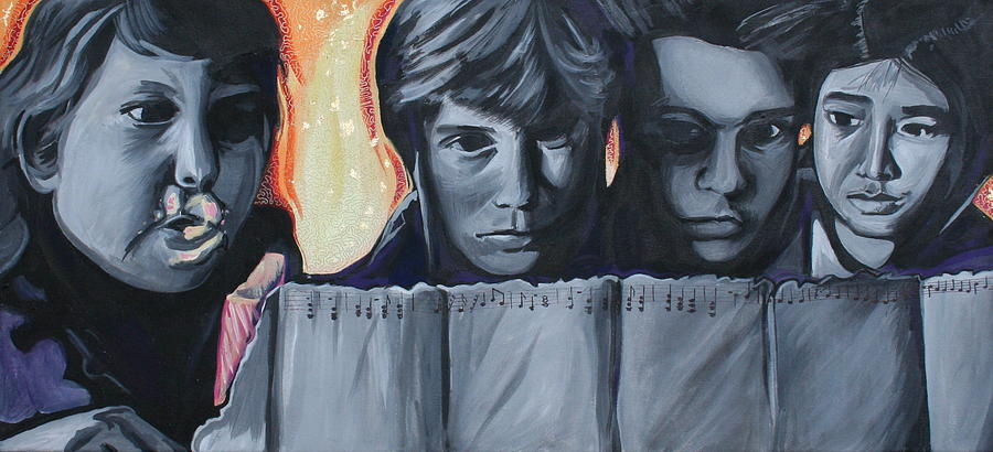 The Goonies Painting by Kate Fortin