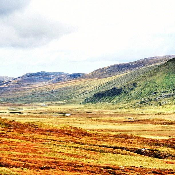 Outdoor Photograph - The Highlands by Luisa Azzolini