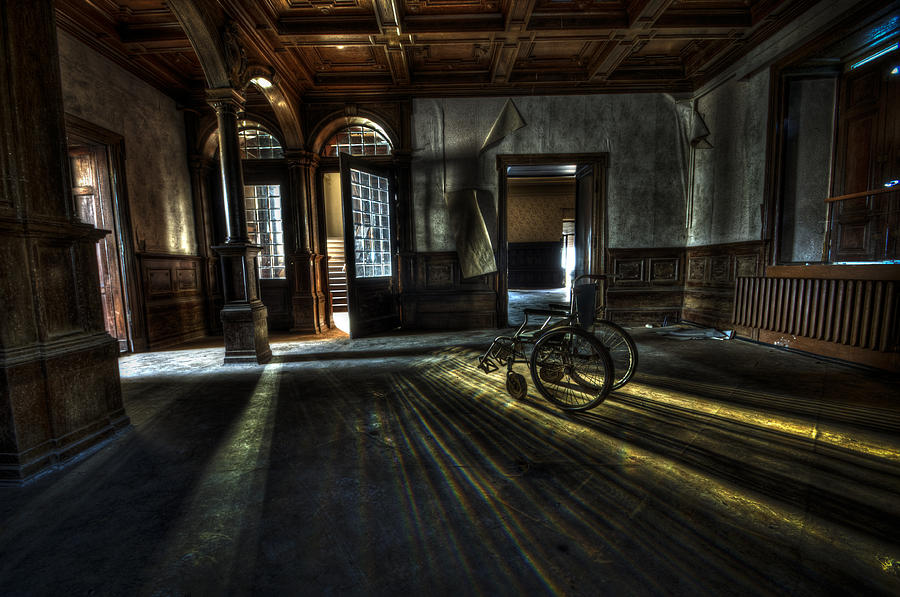 Abandon Photograph - The Home by Nathan Wright