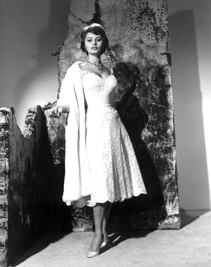 1958 Movies Photograph - The Key, Sophia Loren, 1958 by Everett