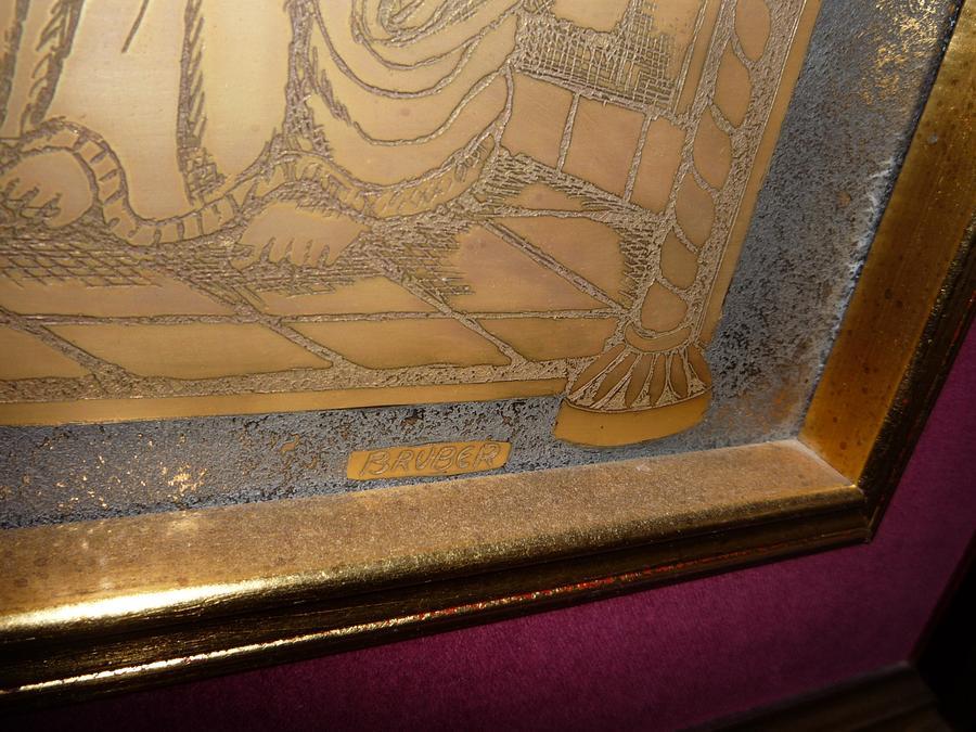 The Last Supper Glass Art - The Last Supper  by BRUBER Bruno Bertoldini