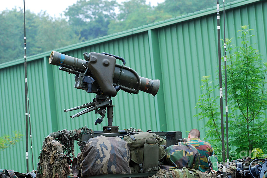 Military Photograph - The Milan, Guided Anti-tank Missile by Luc De Jaeger