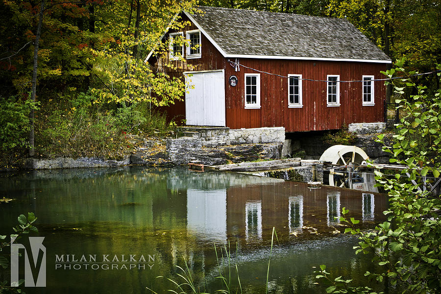Water Photograph - The Mill by Milan Kalkan