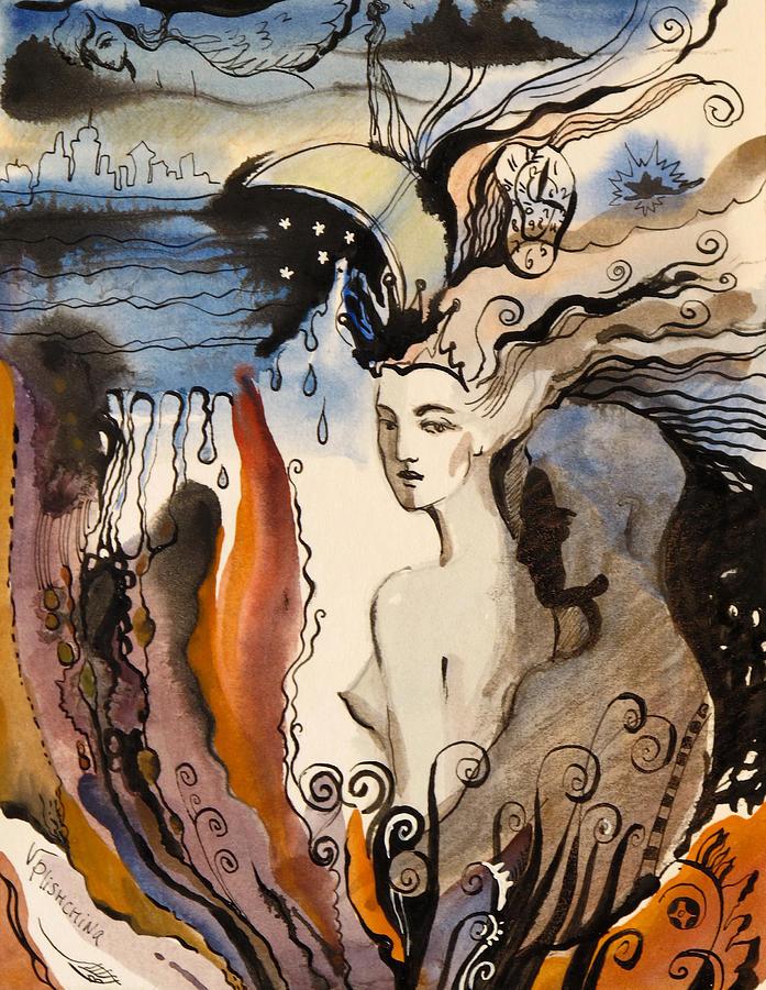 Night by Valentina Plishchina