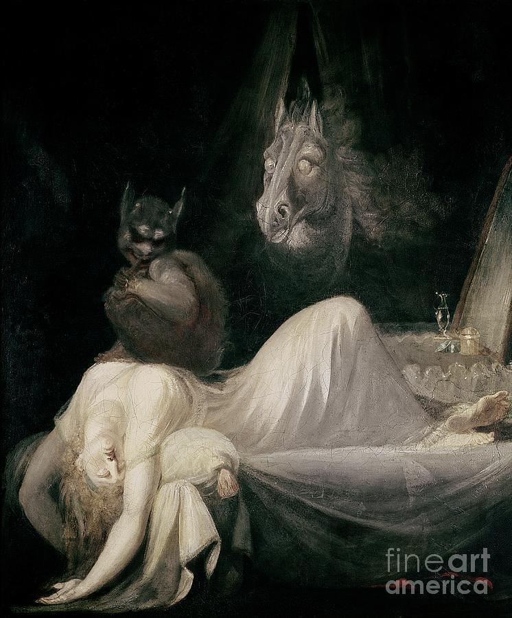 Henry Fuseli S  Painting The Nightmare