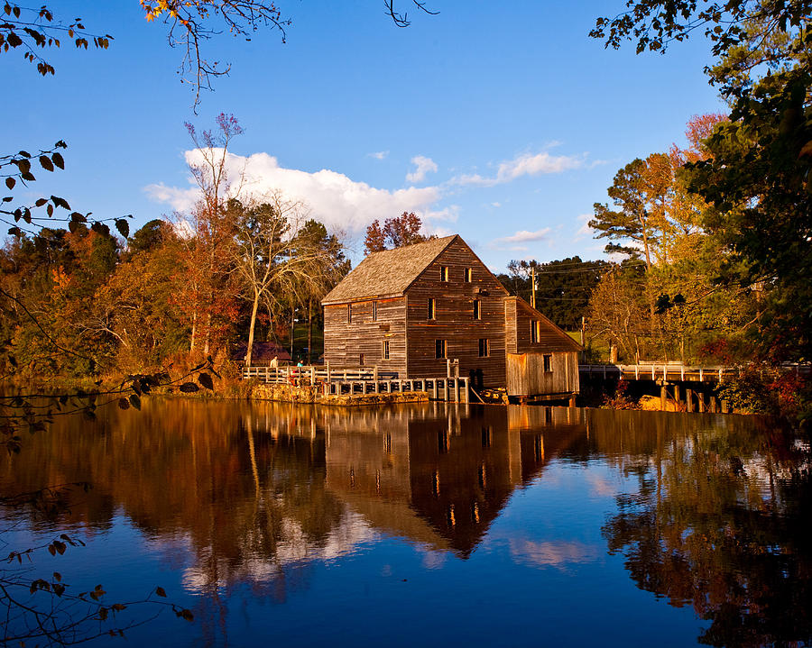 Mill Photograph - The Old Yates Mill by Sheila Kay McIntyre