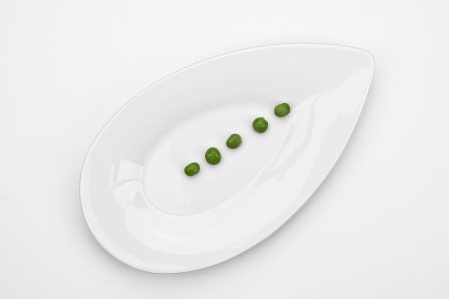 Green Photograph - The Pea by Joana Kruse